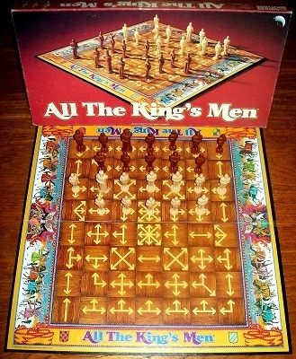'All The King's Men' Board Game