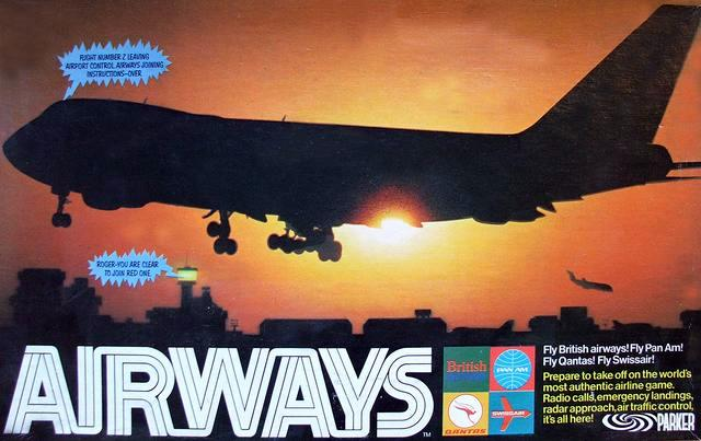Airways Board Game | Vintage Board Games & Classic Toys | Vintage Playtime