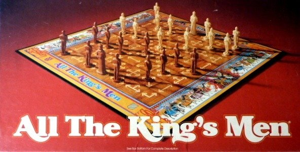 All The King's Men Board Game | Vintage Board Games & Classic Toys | Vintage Playtime