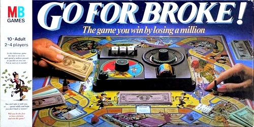 Go For Broke! Board Game | Vintage Board Games & Classic Toys | Vintage Playtime