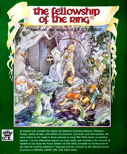 The Fellowship Of The Ring Board Game | Vintage Board Games & Classic Toys | Vintage Playtime