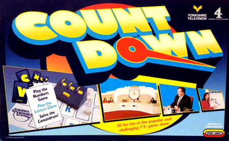 Countdown Game | Vintage Board Games & Classic Toys | Vintage Playtime