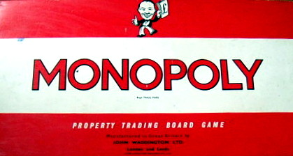Monopoly Board Game | Vintage Board Games & Classic Toys | Vintage Playtime