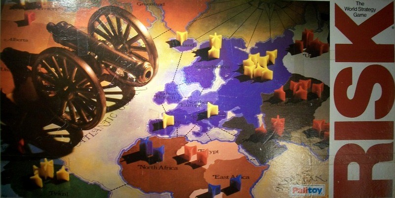 Risk Board Game | Vintage Board Games & Classic Toys | Vintage Playtime
