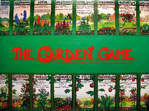 The Garden Game Board Game | Vintage Board Games & Classic Toys | Vintage Playtime