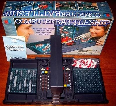'Computer Battleship' Game