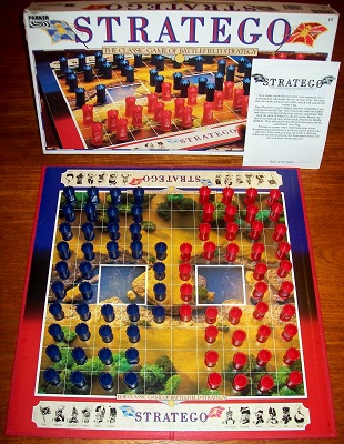 'Stratego' Board Game