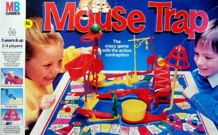 Mouse Trap Board Game | Vintage Board Games & Classic Toys | Vintage Playtime