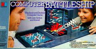 Computer Battleship Game | Vintage Board Games & Classic Toys | Vintage Playtime