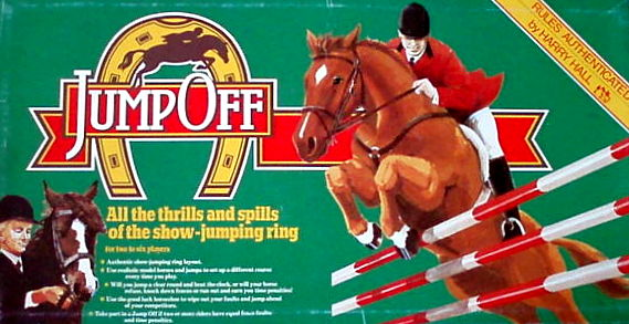 Jump Off Board Game | Vintage Board Games & Classic Toys | Vintage Playtime