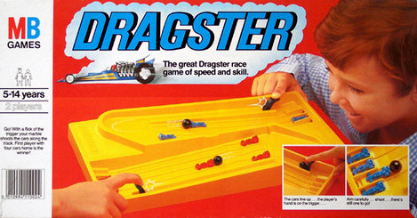 Dragster Game | Vintage Board Games & Classic Toys | Vintage Playtime
