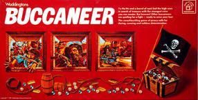 Buccaneer Board Game | Vintage Board Games & Classic Toys | Vintage Playtime