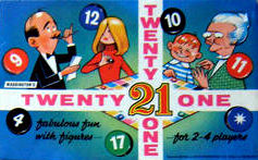 Twenty One / 21 Board Game | Vintage Board Games & Classic Toys | Vintage Playtime