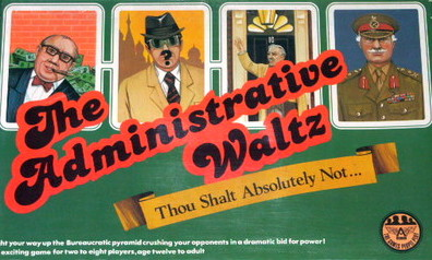The Administrative Waltz Board Game | Vintage Board Games & Classic Toys | Vintage Playtime