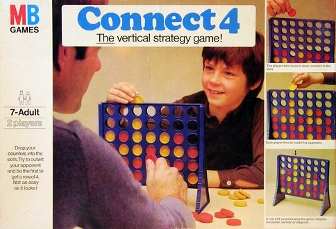 Connect 4 Game | Vintage Board Games & Classic Toys | Vintage Playtime