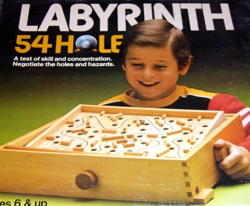 Labyrinth Game | Vintage Board Games & Classic Toys | Vintage Playtime