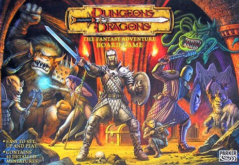Dungeons & Dragons Board Game | Vintage Board Games & Classic Toys | Vintage Playtime