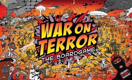 War On Terror Board Game | Vintage Board Games & Classic Toys | Vintage Playtime
