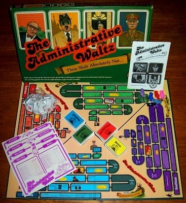 'The Administrative Waltz' Board Game