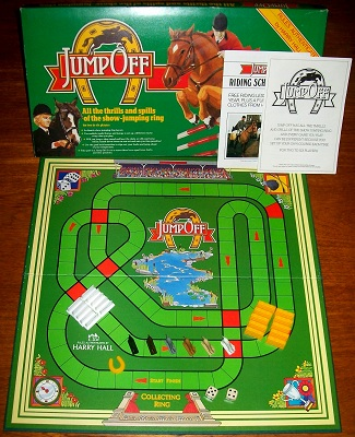 'Jump Off' Board Game