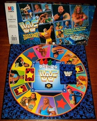 'WF Wrestling Challenge Game' Board Game