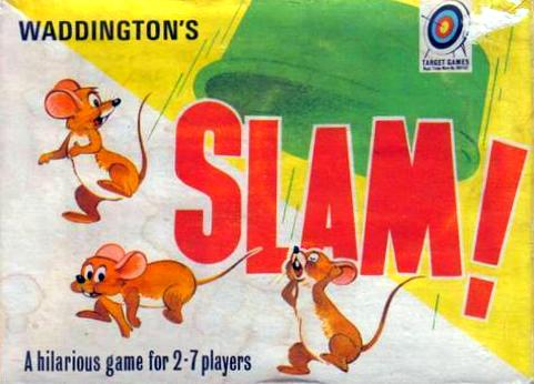 Slam! Game | Vintage Board Games & Classic Toys | Vintage Playtime