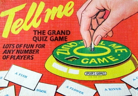 Tell Me: The Grand Quiz Game | Vintage Board Games & Classic Toys | Vintage Playtime