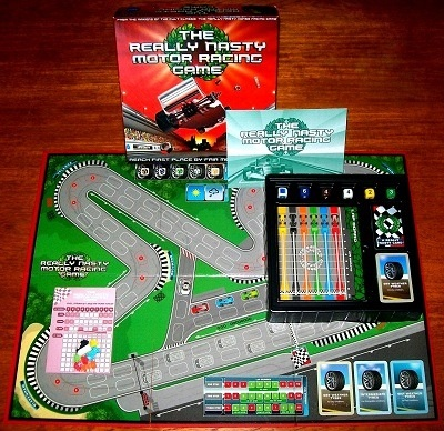 'The Really Nasty Motor Racing Game' Board Game