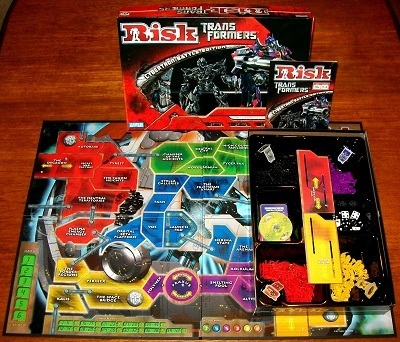 'Risk: Transformers Cybertron Battle' Board Game