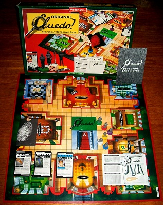 Cluedo Board Game By Waddingtons Vintage Board Games