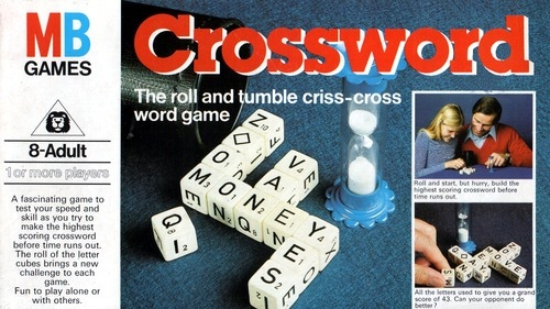 Crossword Game | Vintage Board Games & Classic Toys | Vintage Playtime