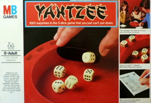 Yahtzee Game | Vintage Board Games & Classic Toys | Vintage Playtime