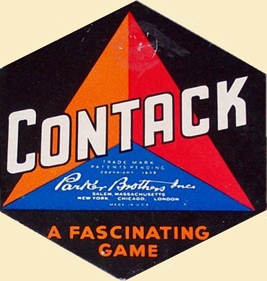 Contack Game | Vintage Board Games & Classic Toys | Vintage Playtime