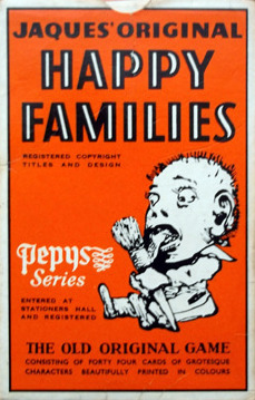 Happy Families Card Game | Vintage Board Games & Classic Toys | Vintage Playtime