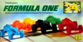 Formula One Board Game | Vintage Board Games & Classic Toys | Vintage Playtime