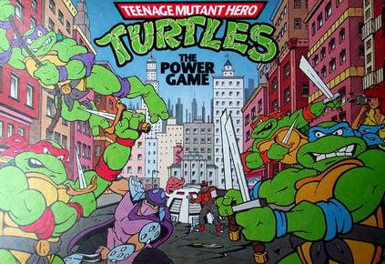 Teenage Mutant Hero Turtles Board Game | Vintage Board Games & Classic Toys | Vintage Playtime