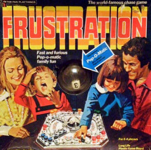 Frustration Board Game | Vintage Board Games & Classic Toys | Vintage Playtime