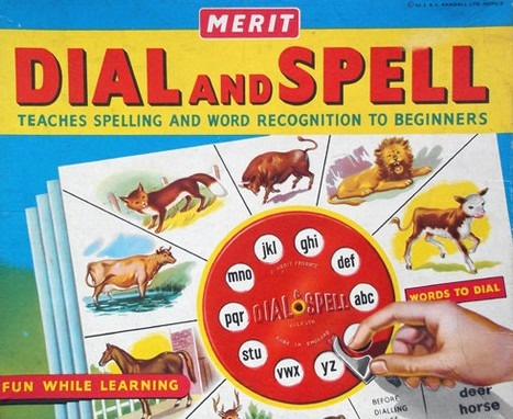 Dial And Spell Game | Vintage Board Games & Classic Toys | Vintage Playtime