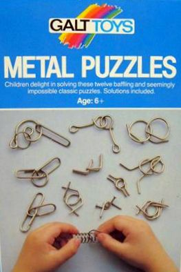 Metal Puzzles Game | Vintage Board Games & Classic Toys | Vintage Playtime