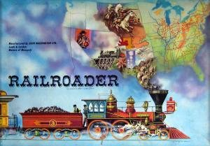 Railroader Board Game | Vintage Board Games & Classic Toys | Vintage Playtime