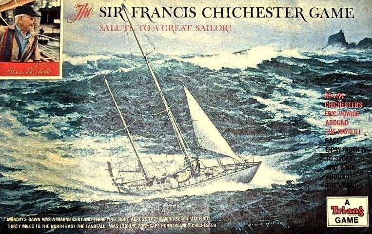 The Sir Francis Chichester Game Board Game | Vintage Board Games & Classic Toys | Vintage Playtime