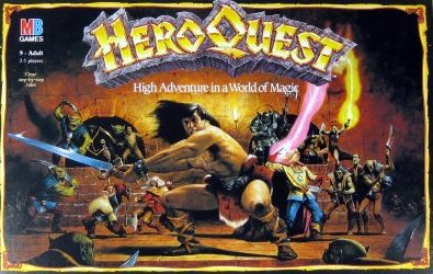 Hero Quest Board Game | Vintage Board Games & Classic Toys | Vintage Playtime