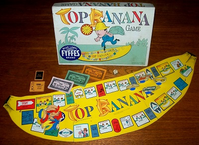 'Top Banana Game' Board Game