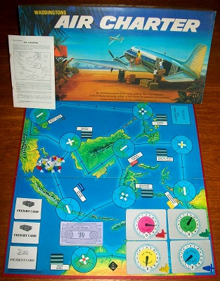 'Air Charter' Board Game