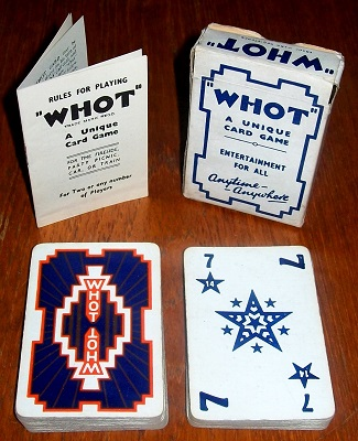 'Whot' Card Game