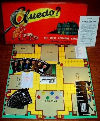 'Cluedo' Board Game