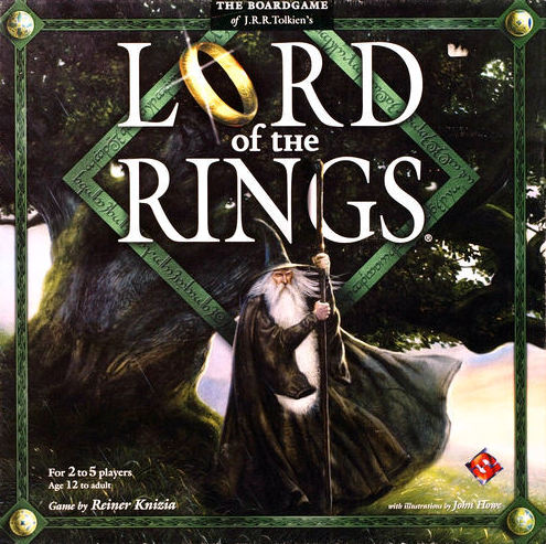 Lord Of The Rings Board Game | Vintage Board Games & Classic Toys | Vintage Playtime