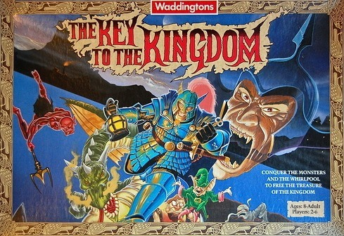 The Key To The Kingdom Board Game | Vintage Board Games & Classic Toys | Vintage Playtime