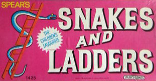 Snakes And Ladders Board Game | Vintage Board Games & Classic Toys | Vintage Playtime