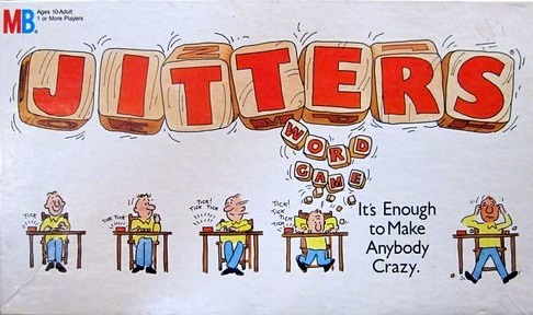 Jitters Word Game | Vintage Board Games & Classic Toys | Vintage Playtime